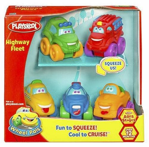 Hasbro Playskool Wheel Pals Mini Highway Fleet