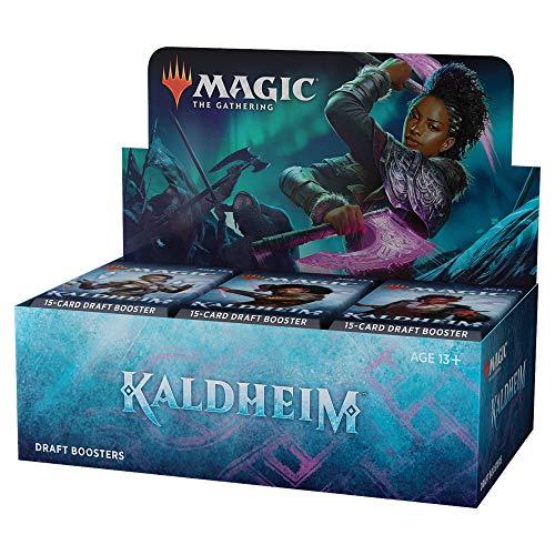 Magic The Gathering Kaldheim Draft Booster Box | 36 Packs (540 Magic Cards)