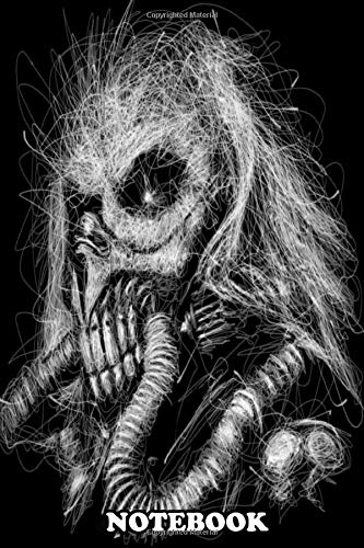 Notebook: Immortan Joe Mad Max Illustration Artwork Scribble Abst , Journal for Writing, College Ruled Size 6