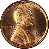 1950 D Lincoln Wheat Cent BU Uncirculated Mint State Bronze Penny 1c Coin
