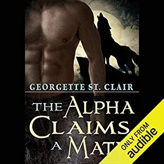 The Alpha Claims a Mate audiobook cover art