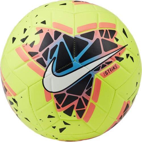 Nike Performance Strike FA19 - Balón de fútbol, Color Amarillo neón y Multicolor, 5