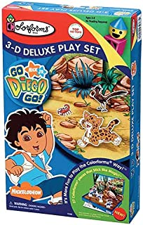 Colorforms Go, Diego, Go! 3-D Deluxe Play Set
