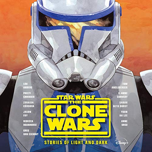 Star Wars The Clone Wars: Stories of Light and Dark cover art