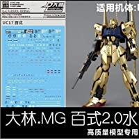 MG 百式 Ver2.0用 デカール 大林工房