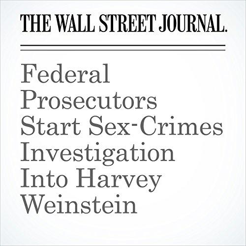 Federal Prosecutors Start Sex-Crimes Investigation Into Harvey Weinstein copertina