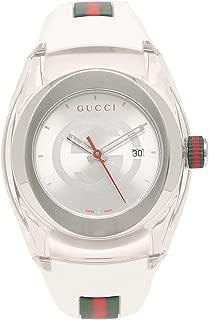 [グッチ]腕時計 レディース メンズ GUCCI YA137302 ホワイト [並行輸入品]