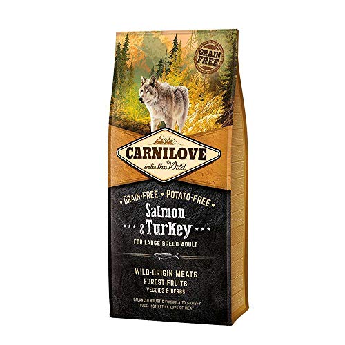 Carnilove Salmon & Turkey Large Breed Dog Food 12kg