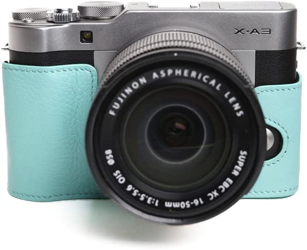 Popular products TP Handmade Genuine Real Regular store Leather Camera for Case Bag Half