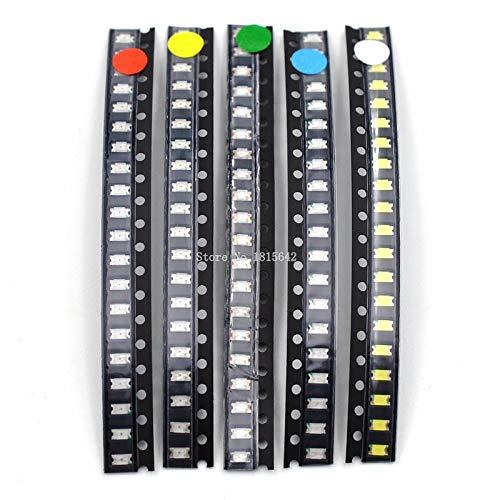 Amazon.es - 100 pcs 1206 Colorful SMD SMT LED Light
