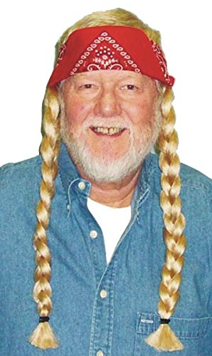Morris Costumes Party Costumes Accessories The Old Hippie Wig