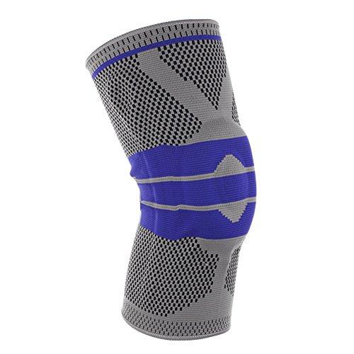 Senmir Sport Ginocchiere Protezione Ginocchio Supporto Compressione Supporto Rotula Ginocchiera Sportiva Pallavolo Basket Calcio Uomo Donna(1 Pezzo)