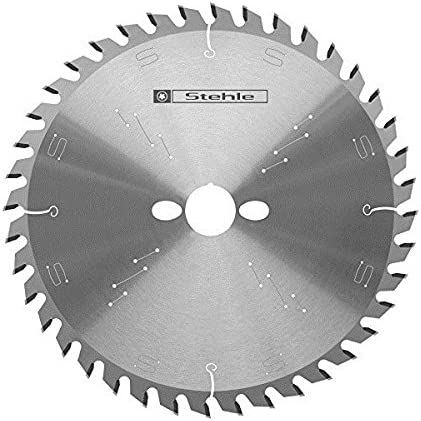 120 x 1,8//1,3 x 20 mm geometria dei denti: 24 WZ Lama di ricambio in metallo duro per sega circolare a mano Stehle alternata