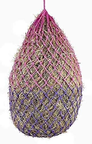 Elico Padstow Heunetz, kleine Löcher für Heu oder Heulage. Pink/Violett, zweifarbig