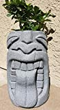 Tongue Tiki Planter NEW COLOR (Granite Grey)