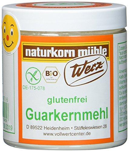 Werz Guarkernmehl glutenfrei (1 x 100 g Dose) - Bio