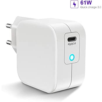 chargeur rapide iphone 61w