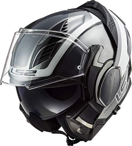 LS2, casco moto modulare VALIANT II orbit jeans, M