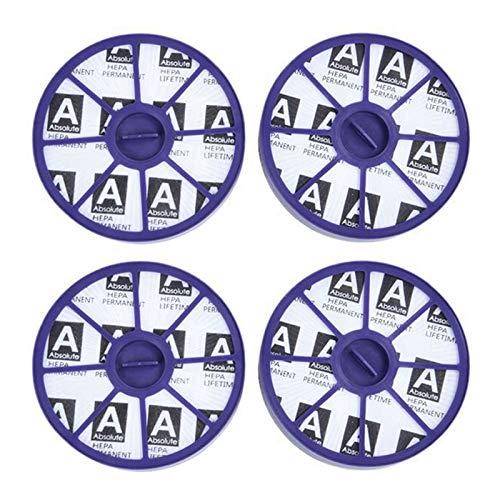 MLXG - Juego de 4 piezas de aspiradora, filtro HEPA para aspirador de robot portátil inalámbrico Dc05 Dc08 DC19 DC20 DC21