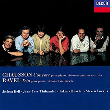 Chausson: Concert for Piano, Violin & String Quartet / Ravel: Piano Trio