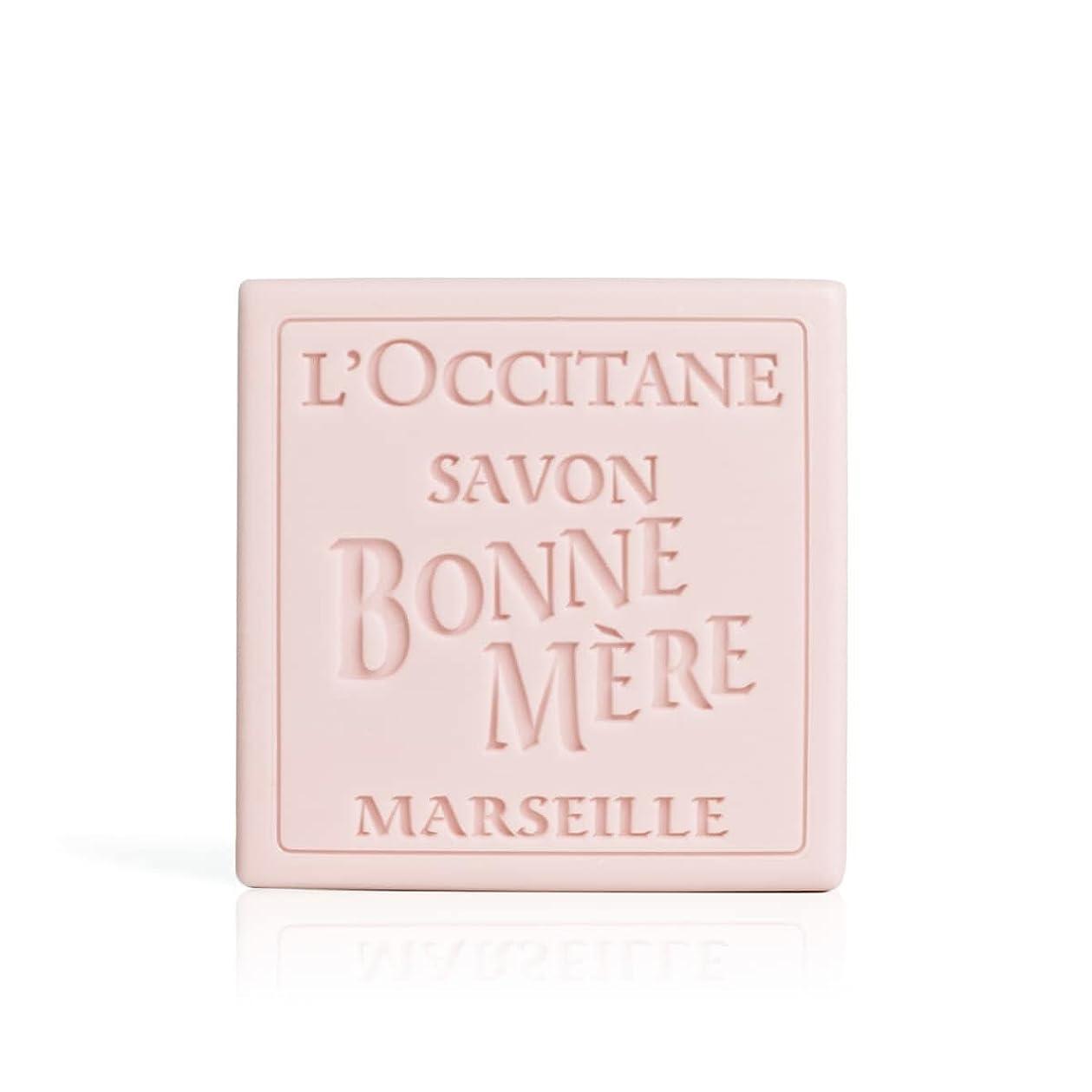 振り向く解明する追加ロクシタン(L'OCCITANE) ボンメールソープ ワイルドローズ 100g