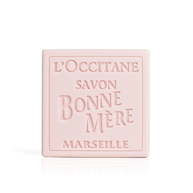 クレデンシャルパンチ表向きロクシタン(L'OCCITANE) ボンメールソープ ワイルドローズ 100g