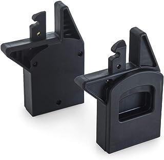 Hauck Adattatore per Ovetto sul Passeggino Doppio Duett 3 Compatibile con l'ovetto Comfort Fix o i-Size iPro Baby del Gruppo 0+, Installazione al Posto della Seduta in Basso - Nero