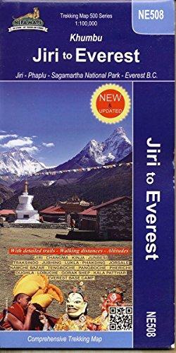 Jiri to Everest (Khumbu) 1 : 100 000: Jiri - Phaplu - Sagamartha National Park - Everest B.C. by Unknown(2017-08-01)