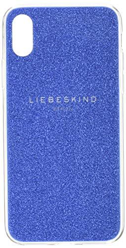 Liebeskind Berlin Damen BumpiXH8-Glitte Handyhülle, deep Blue, 1x15x8 cm