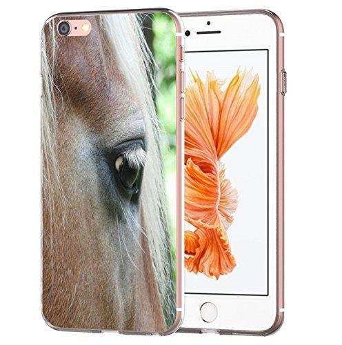 Blitzversand, custodia protettiva Sunset Horse compatibile con Huawei P8 Lite 2017, vista intima, custodia protettiva trasparente M14