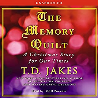 The Memory Quilt audiobook cover art