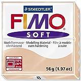 STAEDTLER FIMO Soft Arcilla de modelar 56g Rosa 1pieza(s) - Compuestos para cerámica y modelaje (Arcilla de modelar, Rosa, 110 °C, 30 min, 56 g, 55 mm)