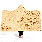 LYDXD Delicious Mexico Burrito Fleece Blanket For Kid Super Soft Sherp Nap Blanket Adult Home Travel Wearable 130x150cm