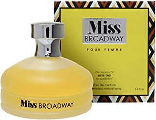 Mirage Diamond Collection Miss Broadway Pour Femme Eau de Parfum, 100ml