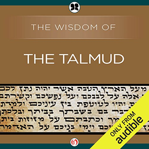 Wisdom of the Talmud audiobook cover art