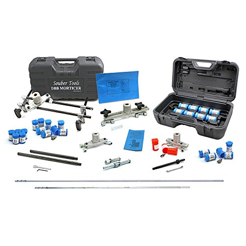 Sale!! Souber DBB Door Lock Mortiser Master Kit with 30+ Cutters & Accessories