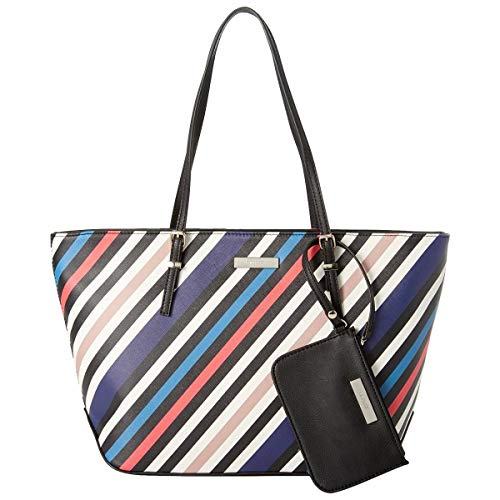 Nine West It Girl Isadore Cruise Tote with Pouch (Multi-Stripe)