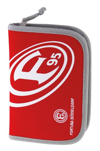 Brauns Fortuna Düsseldorf F95 Federmäppchen aus Nylon , rot