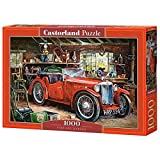 Castorland- Vintage Garage-1000 Pieces Puzzle, Multicolore, C-104574-2