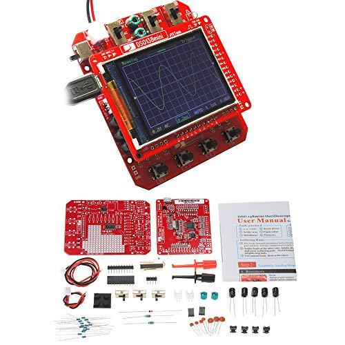 Zitainn Bausatz, Mini-Digitaloszilloskop SMD-Teile Vorgelöteter elektronischer Lernsatz 1MSa / s 0-200KHz
