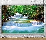 Forêt Cascade Toiles De Fond Mur Photographie Fond Célébration Événement Bannière Photo Studio Stand Accessoires Fond