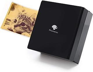 Pocket Printer Phomemo M02 Mini Printer- Portable Bluetooth Thermal Printer Pocket Sticker Printer Compatible with iOS + A...