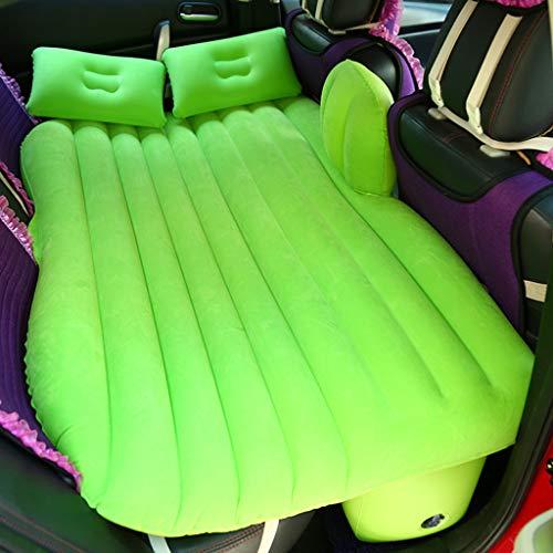 HUIJUTB Cama De Aire Inflable para SUV, Colchón De Aire Mejorado con Dispositivo De Protección con Cinturón De Seguridad para Niños, Que Incluye Bomba Eléctrica, Fácil De Instalar,Verde