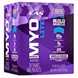 EAS Myoplex Lite Protein Shake Mix Packets, Vanilla Cream, 1.9 oz...