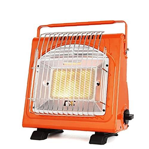 Calentador de gas coche compacto de peso ligero del calentador de espacio al aire libre portátil para la pesca que acampa de la tienda de coches de picnic Viajes de Navidad Partes cocina de campamento