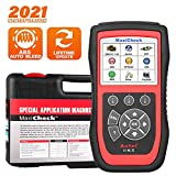 Autel MaxiCheck Pro for ABS Brake Auto Bleeding OBD2 Scan Diagnostic Tool, with SRS Airbag, Oil Reset, SAS, EPB, BMS for Specific Vehicles, Software Lifelong Free Update, NOT Support All Cars