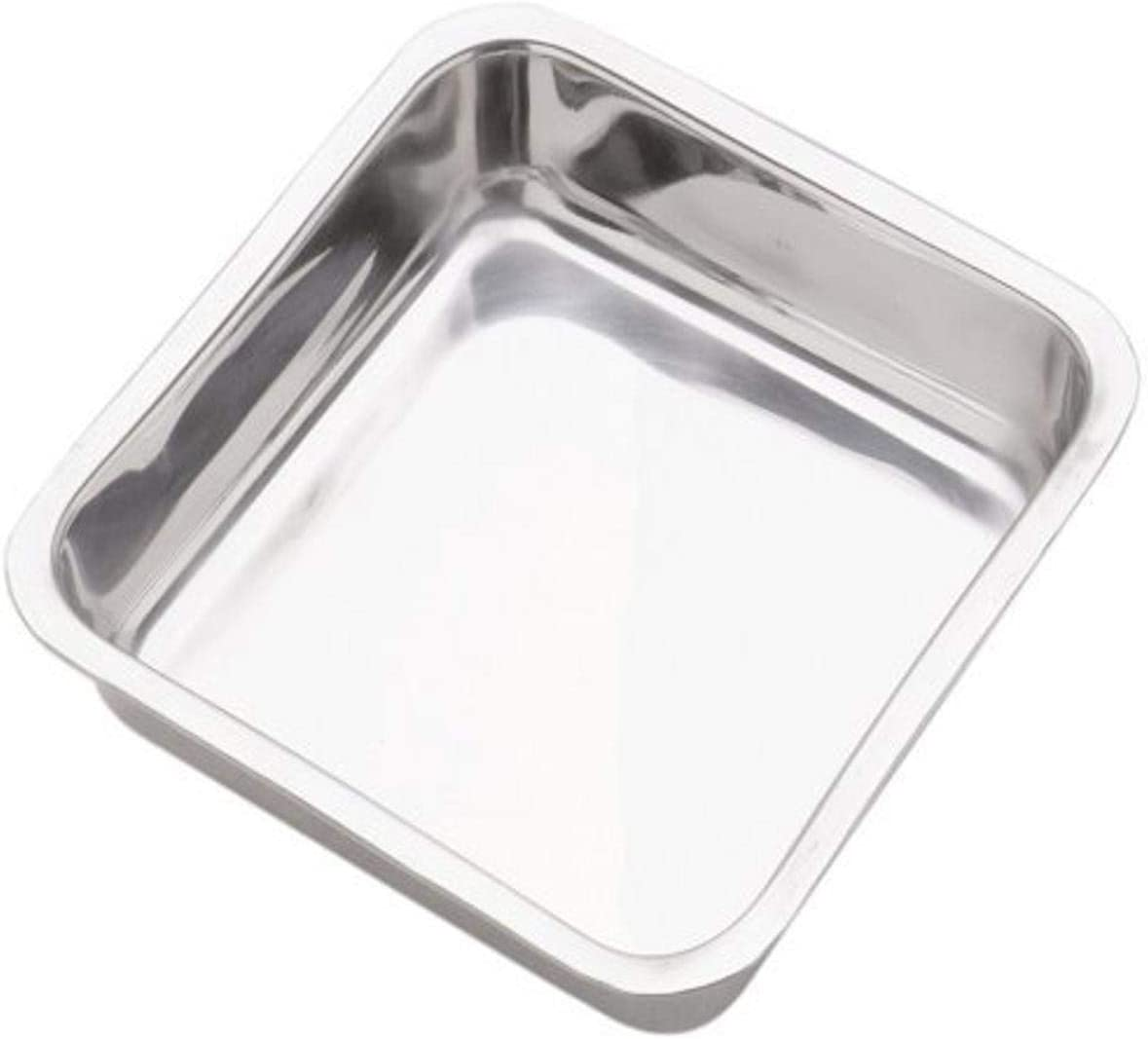 Norpro Very popular! 8 Inch Our shop most popular Stainless Square Pan Steel Cake