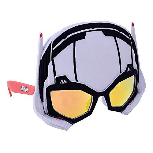 Sun-Staches Costume Sunglasses Marvel Ant Man Party Favors UV400