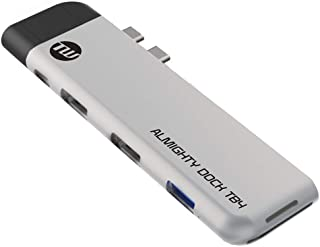 TUNEWEAR ALMIGHTY DOCK TB4 マルチUSB-Cハブ Macbook Pro/Air HDMI シルバー TUN-OT-000066
