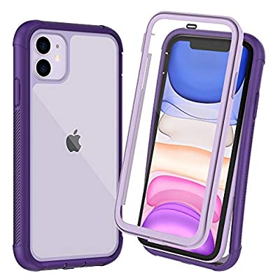 OTBBA iPhone 11 Case, Full-Body with Built-in Screen Protector Heavy Drop Protection Shock Absorption Cover Case Designed for iPhone 11-6.1 inch